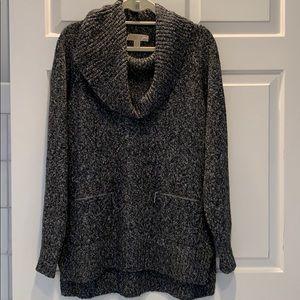 Michael /Michael Kors gray cowl neck Sweater